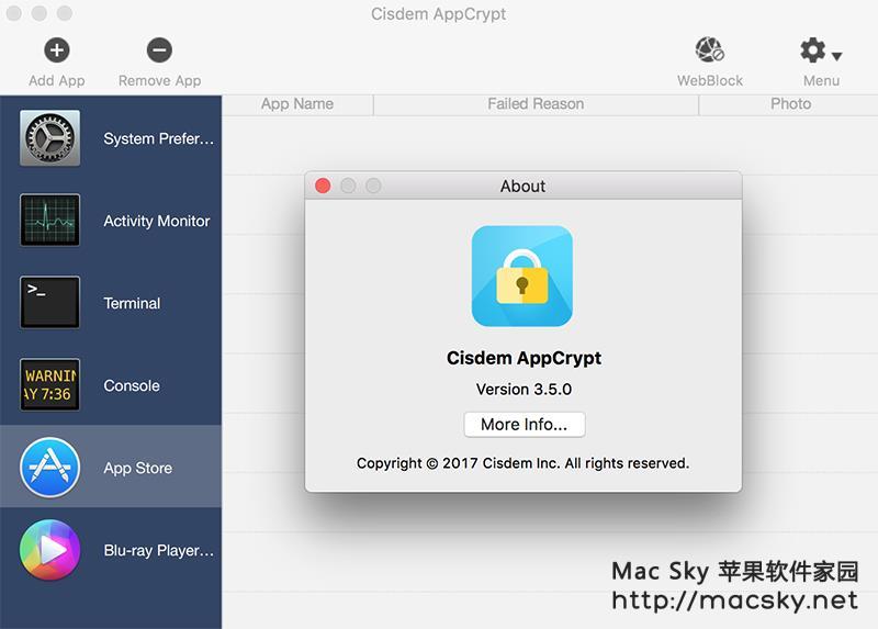 Cisdem-AppCrypt-02 Cisdem AppCrypt 3.5.0 for Mac 苹果专业文件加密工具
