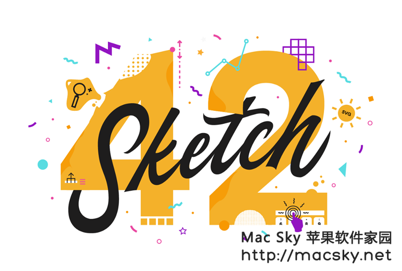 sketch Mac系统IOS开发 UI设计 矢量图形绘制软件 Sketch 46 破解版