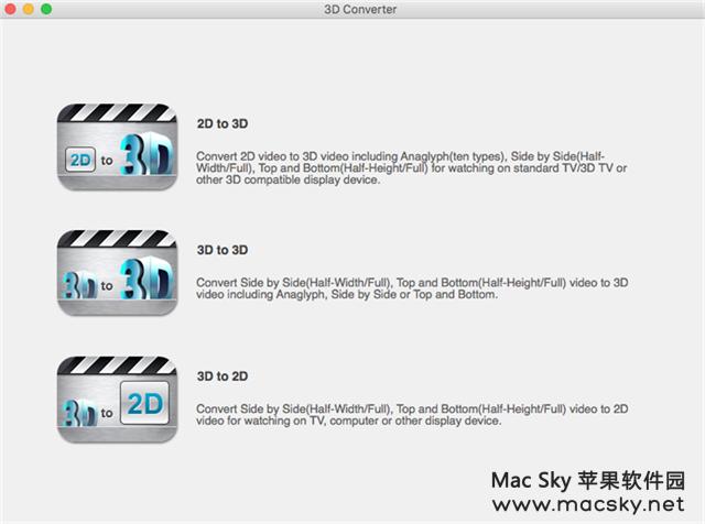 3d-converter 苹果专业3D视频转换器 aiseesoft 3D Converter 6.3.99 Mac