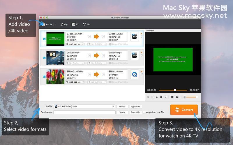 4K-Converter-01 4K视频格式转换器 Aiseesoft 4K UHD Converter 6.5.37