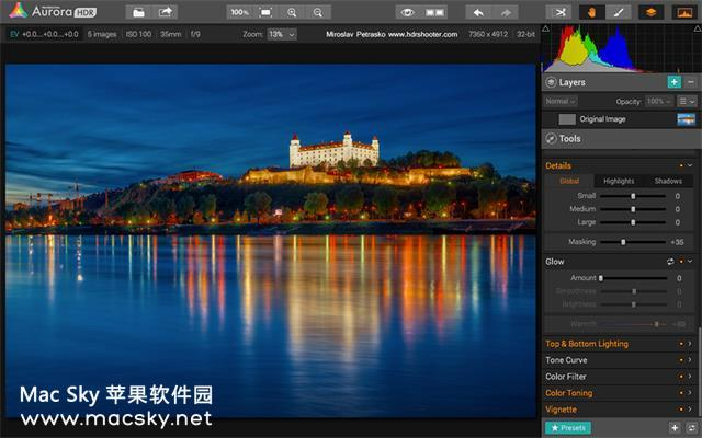 Aurora-HDR-02 Aurora HDR 2018 v1.1.3 for Mac 中文版 终极HDR修图软件