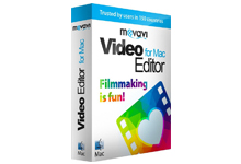 苹果视频编辑软件 Movavi Video Editor v4.4.0 Mac OS X