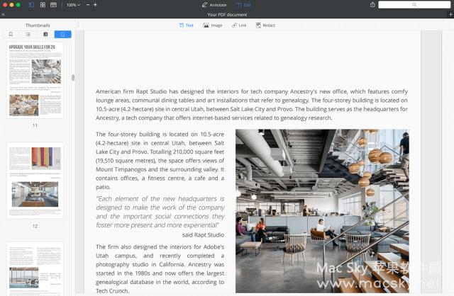 PDF-Expert-02 PDF Expert 2.2.20 中文版 PDF文件阅读与编辑工具