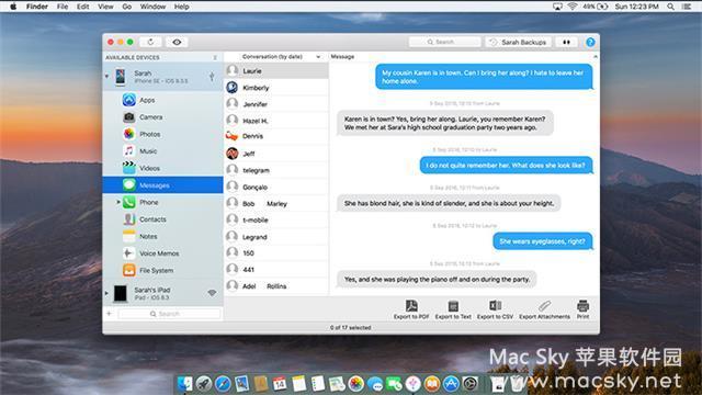 iMazing-02 iMazing 2.5.4 (8418) for Mac 中文版 iOS设备手机助手