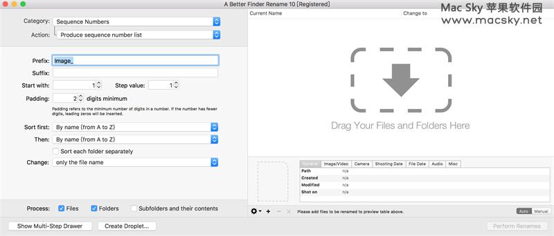 A-Better-Finder-Rename A Better Finder Rename 10.24 for Mac文件批量重命名工具