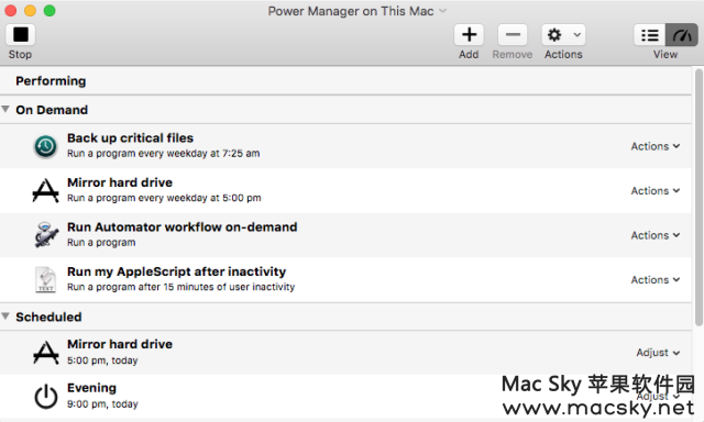 DSSW-Power-Manager DSSW Power Manager 4.6.4 for Mac 电源管理工具