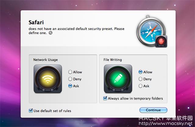 Hands-Off-01 Hands Off! 3.2.6 for Mac 优秀强大的防火墙工具