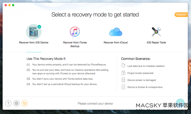iMobile-PhoneRescue-02 iMobile PhoneRescue 3.4.4 for Mac iOS设备数据恢复软件