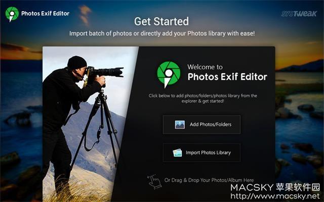 Photos-Exif-Editor-01 Photos Exif Editor 2.1 for Mac 照片元数据编辑修改工具