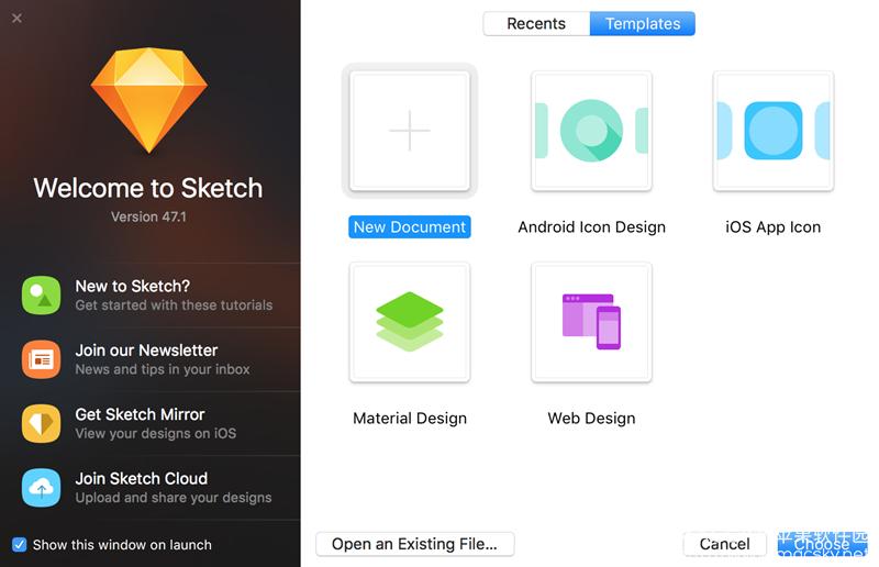 Sketch-47.1_01 Sketch 47.1 for Mac 破解版 iOS开发 UI设计 矢量图形绘制软件
