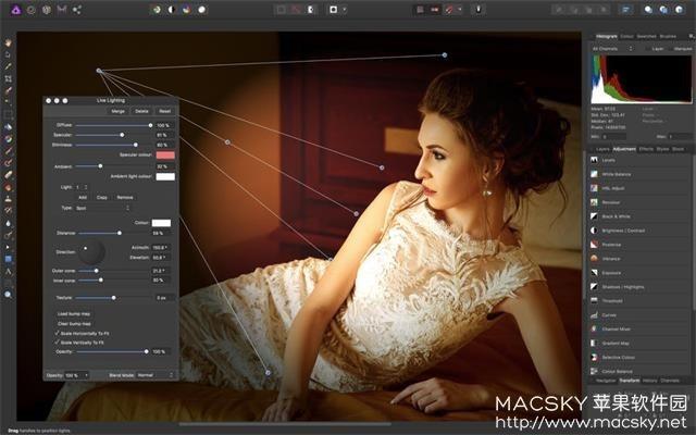 Affinity-Photo-01 Affinity Photo 1.6.7 for Mac 中文版 图片编辑处理软件