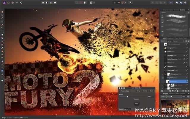 Affinity-Photo-02 Affinity Photo 1.6.7 for Mac 中文版 图片编辑处理软件
