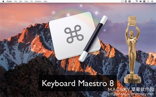 Keyboard-Maestro-01 Keyboard Maestro 8.1.1 for Mac 强大Mac键盘增强工具