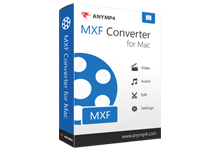 MXF-Converter AnyMP4 MXF Converter 8.1.10 MXF视频格式转换器