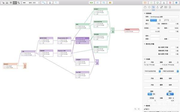 OmniPlan-01 OmniPlan Pro 3.9.2 for Mac 中文版 项目管理规划软件