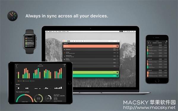 Tyme-03 Tyme 2 v2018.4 for Mac 个人时间管理规划工具