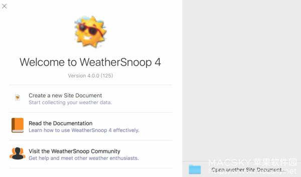 WeatherSnoop-02 WeatherSnoop 4.0.0 Build 144 for Mac 优秀天气预报软件