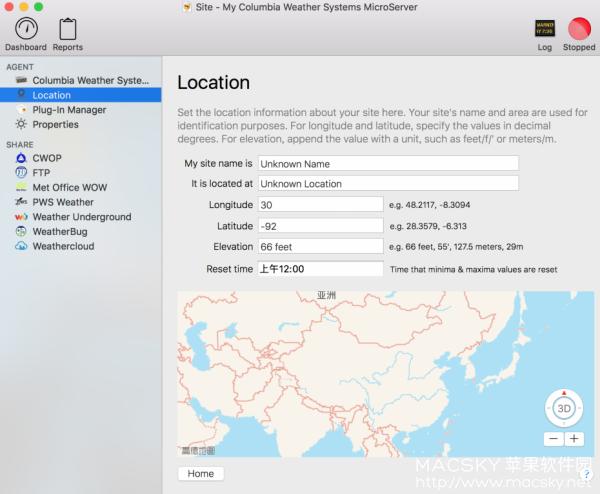 WeatherSnoop-03 WeatherSnoop 4.0.0 Build 144 for Mac 优秀天气预报软件
