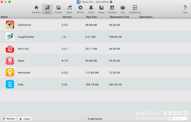 iTools-Pro-01 iTools Pro 1.7.7.3 for Mac iOS设备文件管理数据传输工具