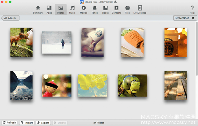 iTools-Pro-02 iTools Pro 1.7.7.3 for Mac iOS设备文件管理数据传输工具