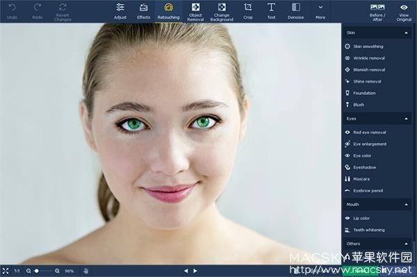 Movavi-Photo-Editor-03 Movavi Photo Editor 5 v5.2 for Mac 强大照片编辑软件