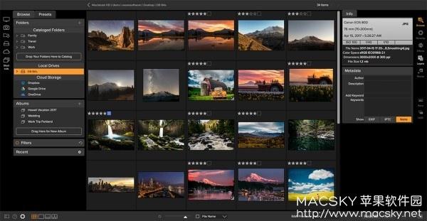 ON1-Photo-RAW-2018-01 ON1 Photo RAW 2018.1 v12.1.0 RAW文件编辑处理软件