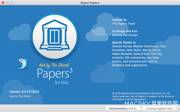 Papers-02 Papers 3.4.16 Build 555 for Mac 文献管理写作软件