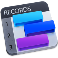 Records Records 1.5.5 For Mac 个人数据库管理工具