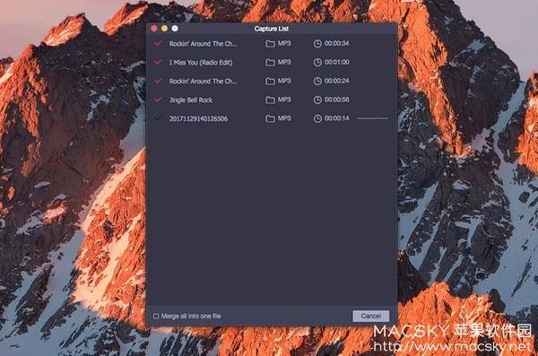 TunesKit-Audio-Capture-02 TunesKit Audio Capture 1.0.3 for Mac 音频录制捕捉提取工具