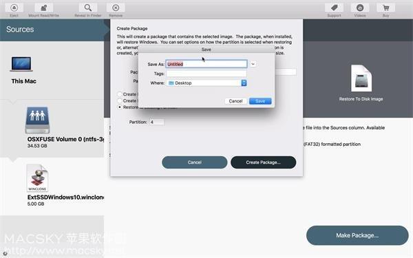 Winclone-Pro-02 Winclone Pro 6.2 Boot Camp分区备份恢复还原工具