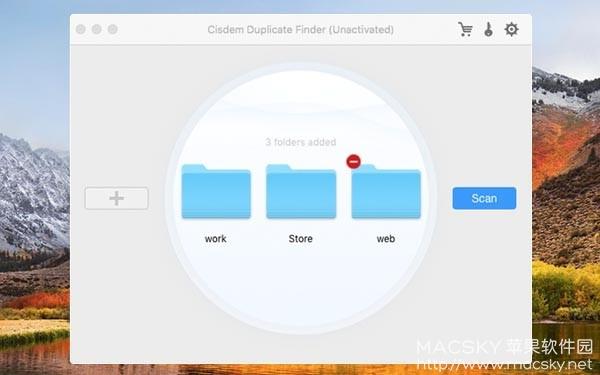 Cisdem-Duplicate-Finder-01 Cisdem Duplicate Finder 4.1.0 Mac重复文件查找删除工具