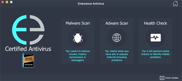 Endurance-Antivirus-05 VirusKiller Antivirus 4.1.7 for Mac 病毒防护扫描查杀保护工具