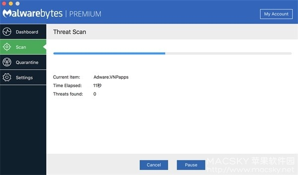 Malwarebytes-01 Malwarebytes Premium 3.2.35 病毒查杀恶意软件清除工具