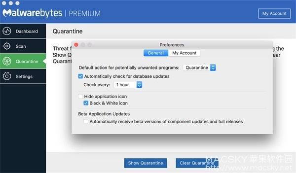 Malwarebytes-02 Malwarebytes Premium 3.2.35 病毒查杀恶意软件清除工具