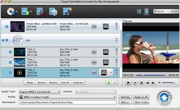 Tipard-Total-Media-Converter-03 Tipard Total Media Converter 9.1.18 Mac视频格式转换器
